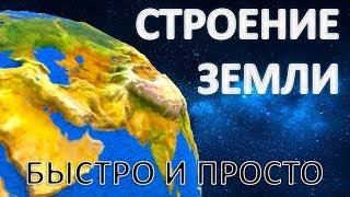 Строение Земли. Быстро и просто.