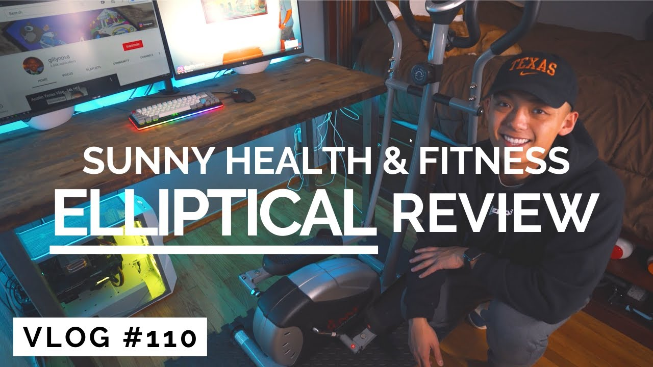 Sunny Health & Fitness Elliptical Review – Under 0!