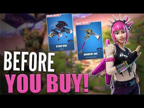 Power Chord | Anarchy Axe | Stage Dive - Before You Buy - Fortnite