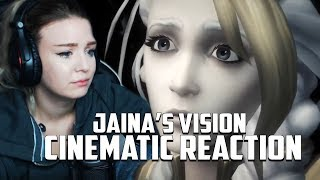 BFA: Jaina's Vision Cinematic Reaction