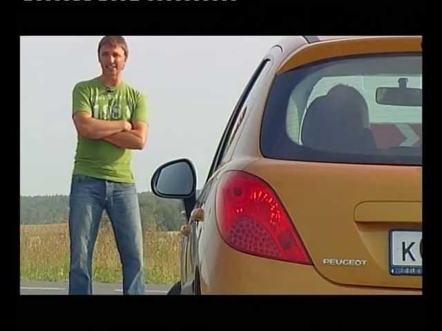 Тест-драйв Peugeot 207, хорош малыш?