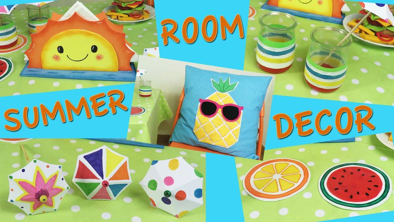 5 ideas decoraci n verano summer room decor youtube