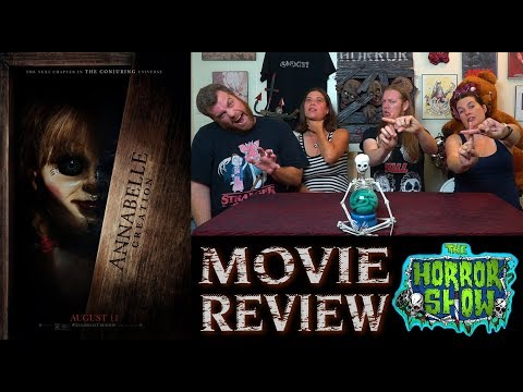 """""""Annabelle: Creation"""" (Annabelle 2) 2017 Horror Movie Review - The Horror Show"""