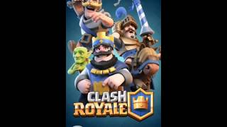 I close my eyes and I form an incredible victory army-Clash Royale-