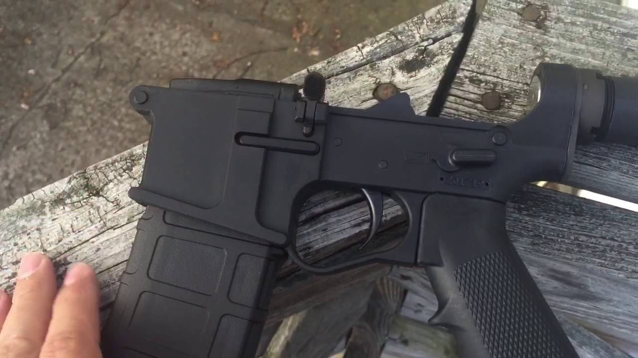 Plum Crazy firearms complete AR-15 polymer lower gen 2