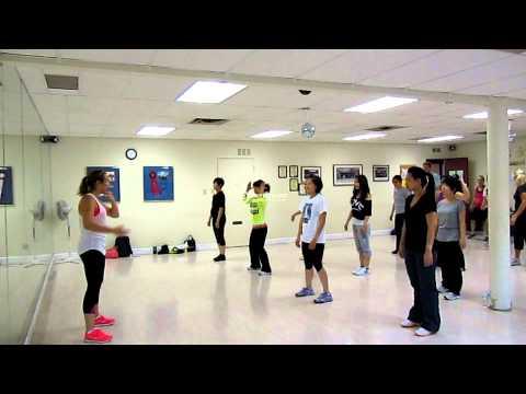 Gangnam Style Zumba Class steps breakdown- Sunberry Fitness Richmond