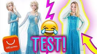 TEST! SUKNIA ELSY Z KRAINY LODU  z Aliexpress