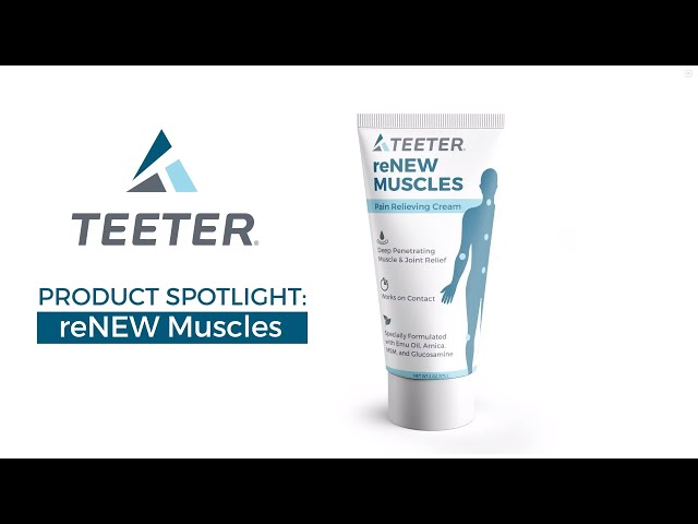 Teeter ReNew Muscle Rub - Not your ordinary muscle cream