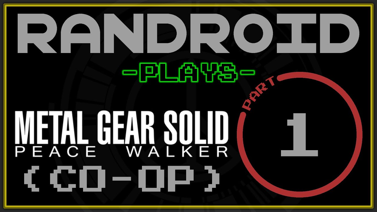 Lets Play Mgs Peace Walker Co Op Part 1 Tropical Espionage