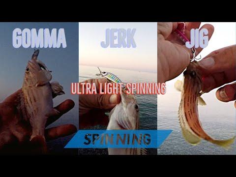 Ultra Light Spinning CERNIE con JIG, JERK e GOMME! ULS primo volume 2020 - clipangler