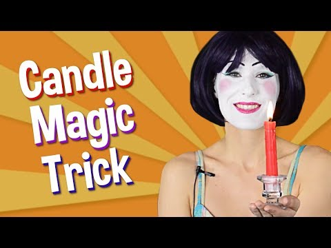How to do a Simple Candle Trick by Aneya Marie