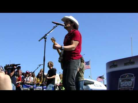 Brad Paisley - This is Country Music at Daytona 500 - 2011