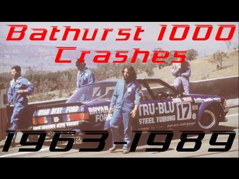 Bathurst 1000 Crashes: 1963-1989