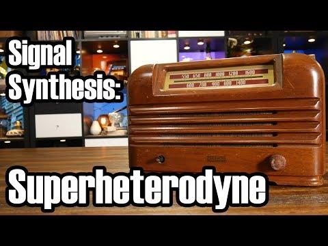 The Superheterodyne Radio: No really, that's its name