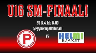 WU16 SM-Finaali Pyrintö - Helmi Basket 14.4.2019