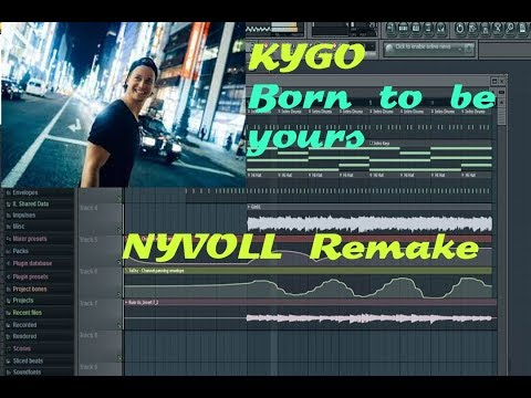 How To Make Born To Be Yours (Kygo)- Remake FL-studio + FLP