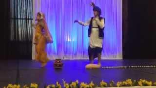 gurnoor chawla performing on teri kanak di rakhi.......