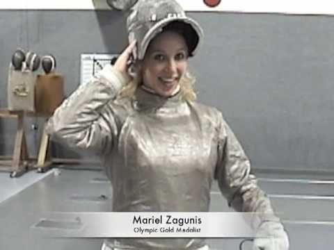Learn How to Fence with Gold Medalist Mariel Zagunis