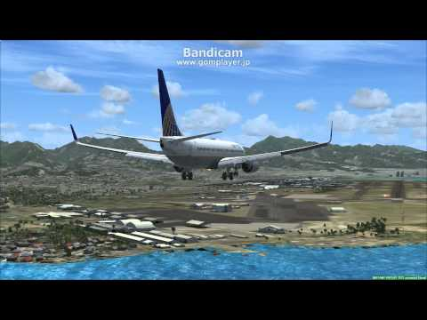 Honolulu International Airport Landing Full HD