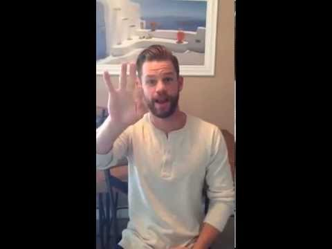 Deaf cruise with Ryan Lane from ABC Family Switched at Birth