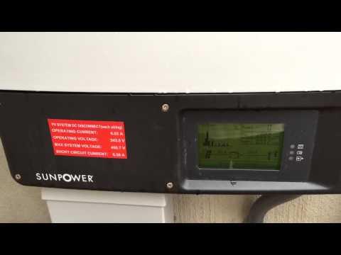 Sunpower 6.2kw x21 345w system