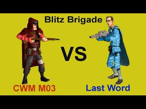 Blitz Brigade | Sniper | CWM M03 VS Last Word Gameplay Video HD