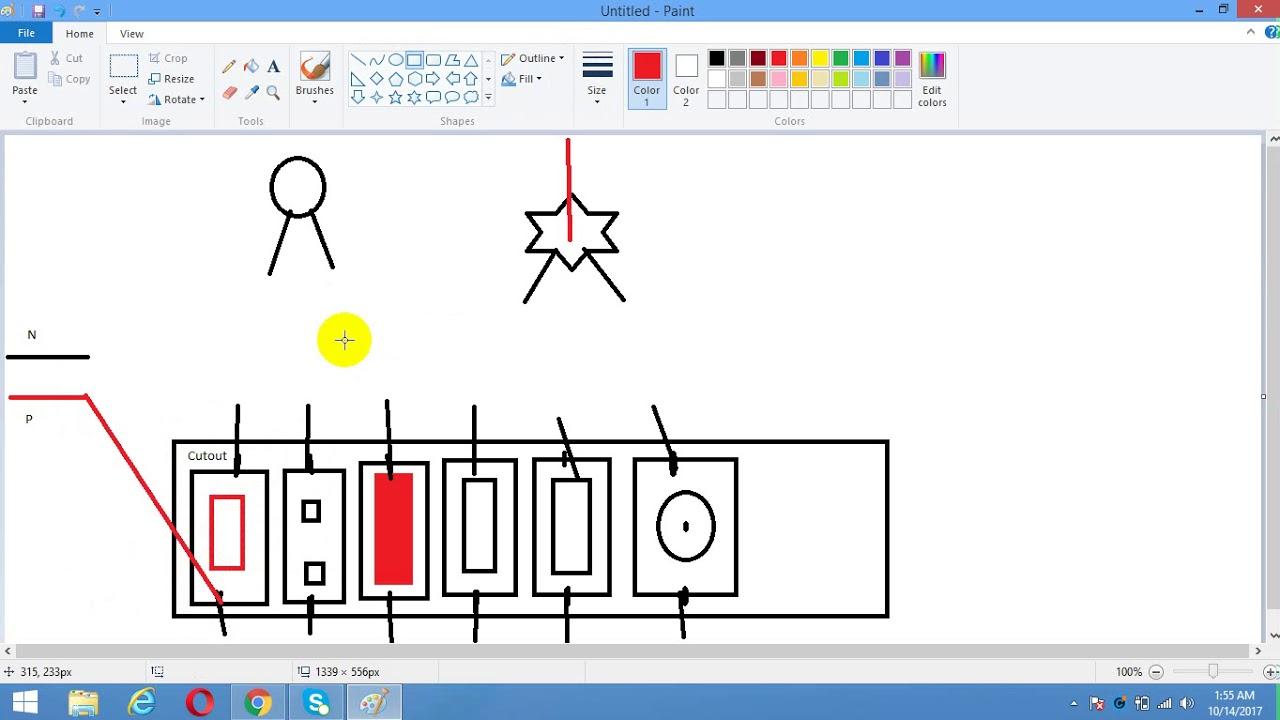 house wiring electrial tutorial 3 bangla youtube rh youtube com Old House Wiring Typical House Wiring Circuits