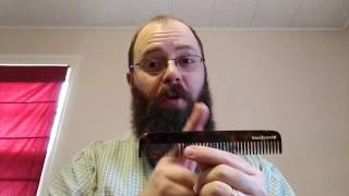 Beardbrand NEW Beard Comb!!! Unboxing and Review