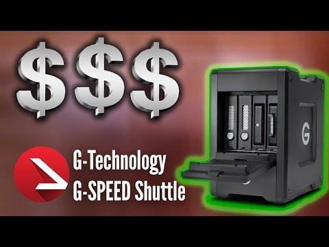 Am besten portabel, schnell & professionel arbeiten | G-Technology 4-Bay G-Speed Shuttle Mini