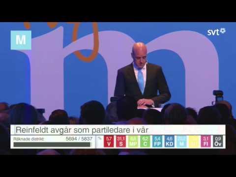 Fredrik Reinfeldt avgår som statsminister | Tacktal