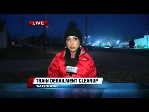 12302 Krieg Auto 010 002 WTMJ 2nd train derails in Wisconsin in 2 days, spills crude oil