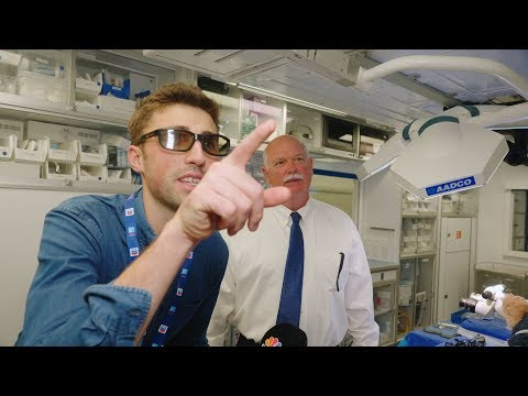 Inside the world's only flying eye hospital | CNBC Reports
