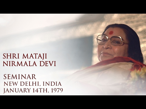 1979-0114 Seminar at Birla Krida Kendra Hindi, Mumbai