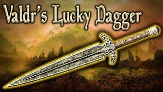 Skyrim SE - Valdr's Lucky Dagger - Unique Weapon Guide