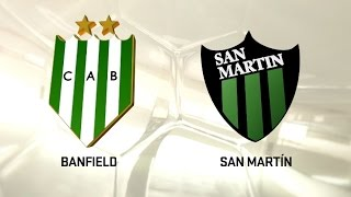 CA Banfield vs San Martin San Ju. full match