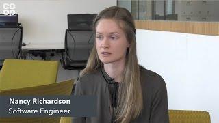 Software engineer, Nancy Richardson, talks about her role at Co-op Digital