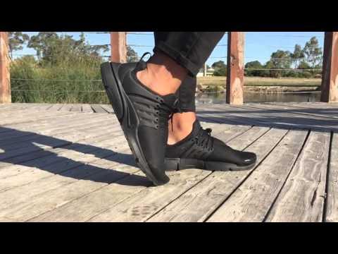 Мужские кроссовки Nike Air Presto (Найк Аир Престо) On Feet Look