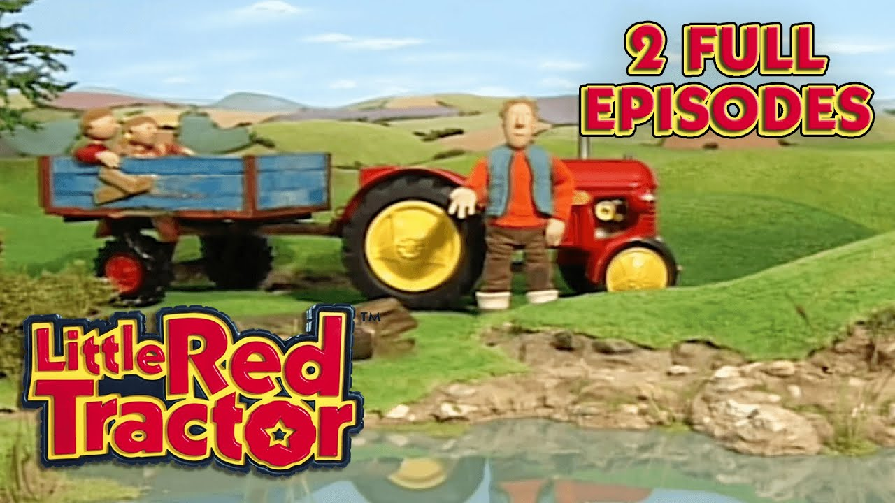 Little Red Tractor Goes Fishing   2 Full Episodes     Little Red Tractor