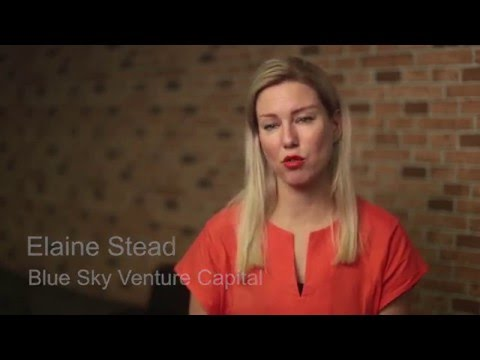 #ideasboom - Elaine Stead from Blue Sky Capital