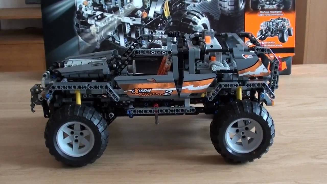 lego technic 8297 power functions jeep review hd720. Black Bedroom Furniture Sets. Home Design Ideas
