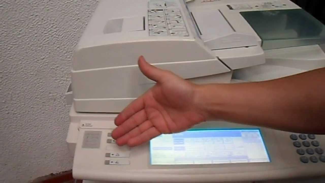 Ricoh Aficio Mp 3045 Fotocopiadora Opciones De Copiado E