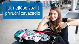 Vylítávky: Jak si sbalit příruční zavazadlo