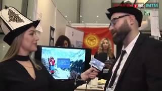 ביתן קירגיזסטן בתערוכת התיירות IMTM 2017 בתל אביב