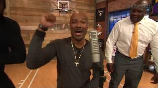 Shaq, KG, and Big Tigger Freestyle in Area 21 | Inside the NBA | NBA on TNT