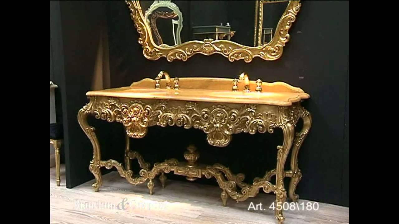 Mobile bagno rinascimento doppio lavabo art 4508 180 - Lavabo doppio bagno ...