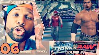 WWE Smackdown vs Raw 2007 Season Mode Part 6 - Sexual Chocolate Fail