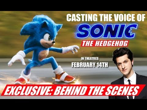 Sonic The Hedgehog Behind The Scenes Youtube