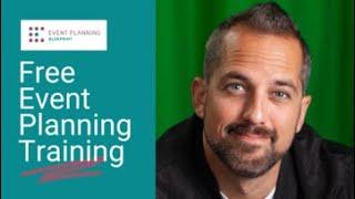 Free Event Planning Training