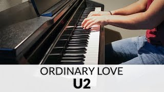 U2 - Ordinary Love (HD Piano Cover)