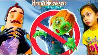 ПРИВЕТ СОСЕД Почему ДОЧКА стала ЗОМБИ ? Вся ИСТОРИЯ прятки Hello Neighbor Hide and Seek Валеришка